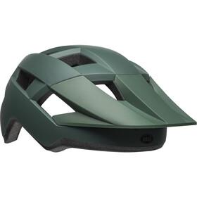 Bell Spark Fietshelm, matte dark green/black